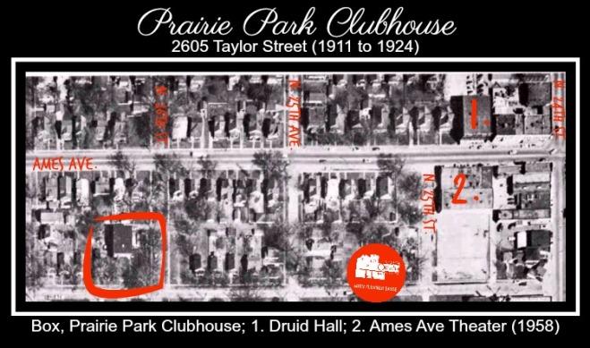 Prairie Park Clubhouse, 2605 Taylor St, North Omaha, Nebraska 68111
