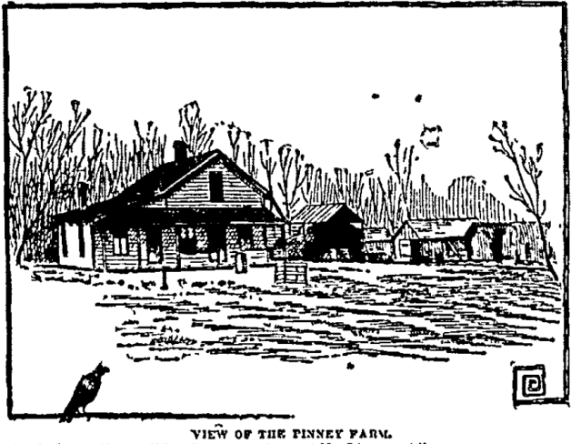 Pinney Farm, Omaha, Nebraska, 1891