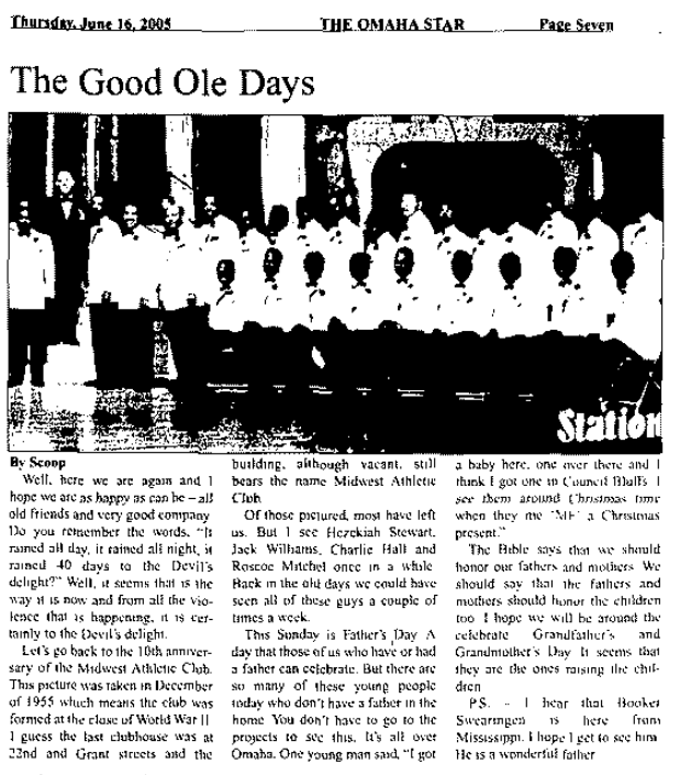 2005 Midwest Athletic Club article