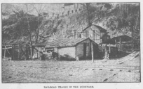 This is a pic of from the North Omaha Bottoms in 1906. It shows a shack by the cliffs east of N. 14th Street.