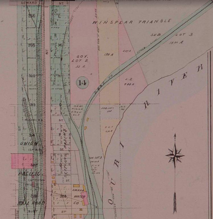 Winspear Triangle, North Omaha, Nebraska 1918
