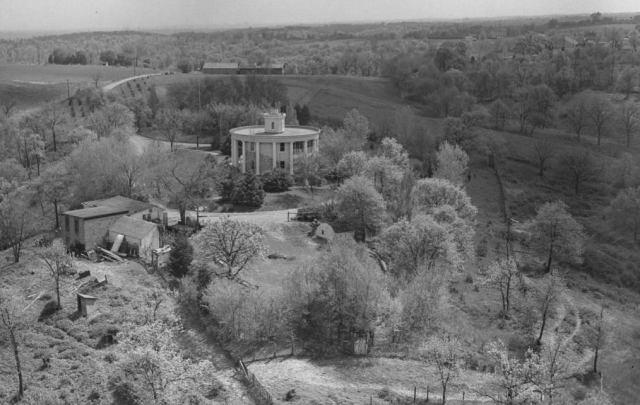 Frank Latenser House, 4014 North Post Road, Ponca Hills, North Omaha, Nebraska.