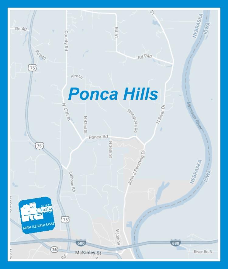 Ponca Hills, North Omaha, Nebraska