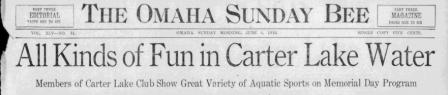 Omaha Sunday Bee, 1916