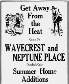 Wavecrest and Neptune Place Additions, Carter Lake, Iowa