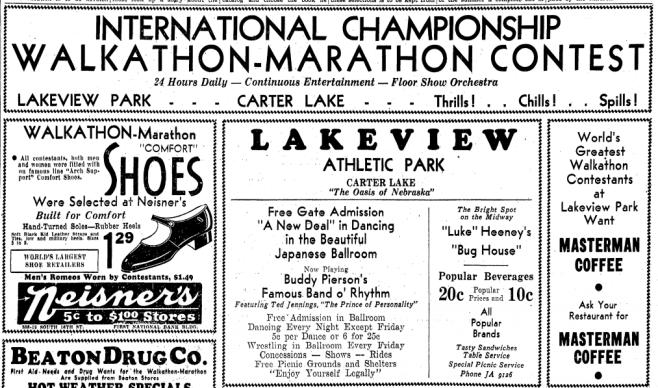 Lakeview Athletic Park, Carter Lake, Iowa