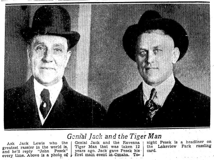 Genial Jack and the Ravenna Tiger Man
