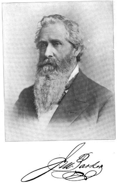 James M. Parker This is James Monroe Parker (1824-1902), Florence, Nebraska