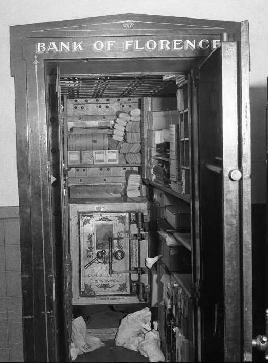 Bank of Florence vault, Florence, Nebraska