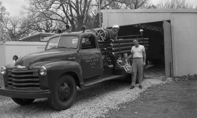 1960s Ponca Hills Volunteer Fire Department