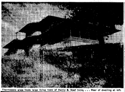 The Harry B. Neef house was (is?) located in Ponca Hills.