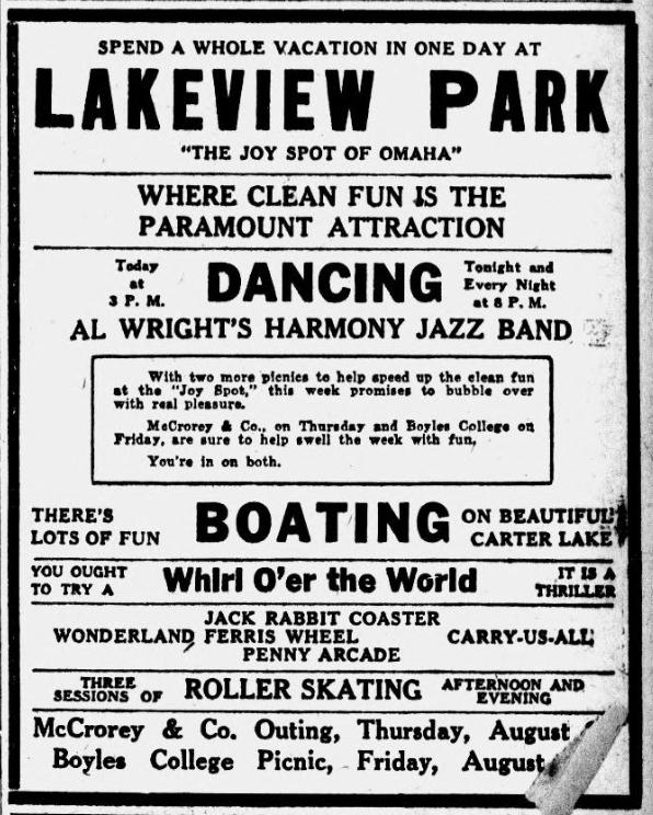 Lakeview Park, East Omaha, Nebraska