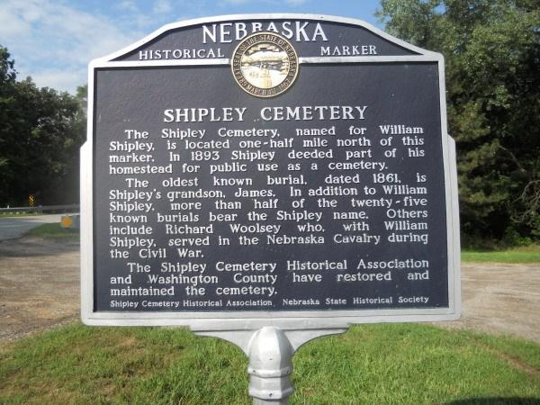 Shipley Cemetery, Ponca Hills, North Omaha, Nebraska