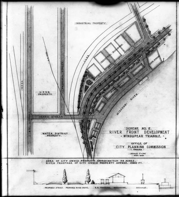 Winspear Triangle plans 1918