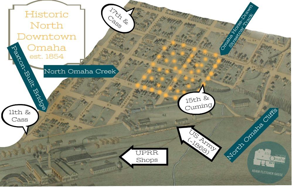 North Downtown Omaha, Nebraska