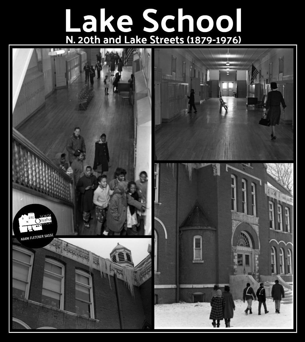 Lake School, N. 20th and Lake Street, North Omaha, Nebraska