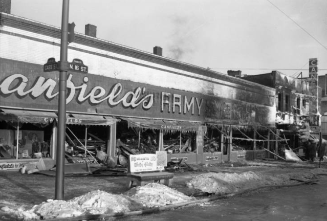 Canfield's, N. 16th and Burt, North Downtown Omaha, Nebraska