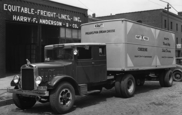 Equitable Freight Lines, Inc. Harry F. Anderson Company, 1514 Cass Street, North Downtown Omaha, Nebraska