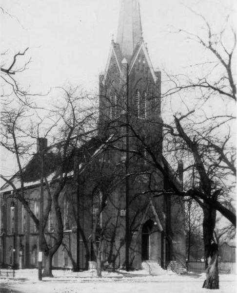 Immanuel Lutheran Church, North 19th and Cass Street, North Downtown Omaha, Nebraska.