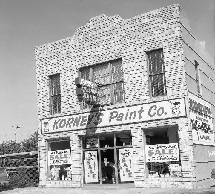 Korney Paint Company, 1718 Cass Street