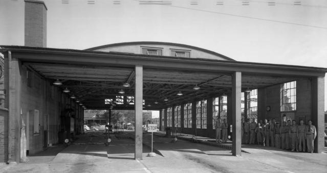 Omaha Automobile Testing Station, North 16th and Cass, North Downtown Omaha, Nebraska
