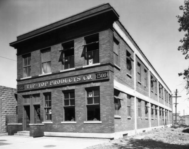 Tip Top Products Company was 1508 Burt Street, North Downtown Omaha, Nebraska