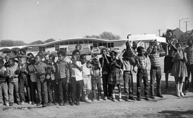 Lake School, 20th and Lake Streets, North Omaha, Nebraska