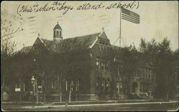 Lake School, N. 20th and Lake, North Omaha, Nebraska