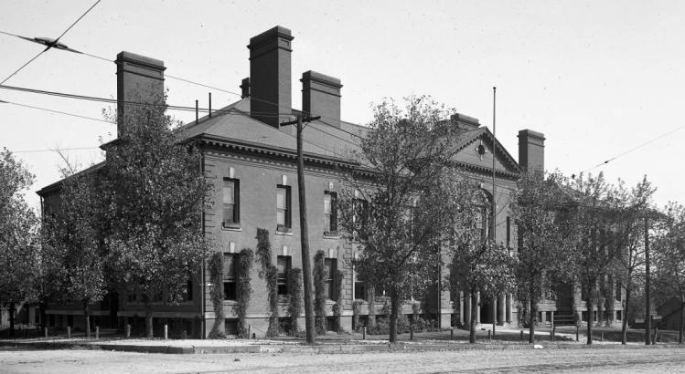 Cass School,1418 Cass Street, North Downtown Omaha, Nebraska