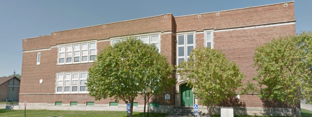 This is the Dorthea Fullwood School, N. 20th and Lake Streets, North Omaha, Nebraska