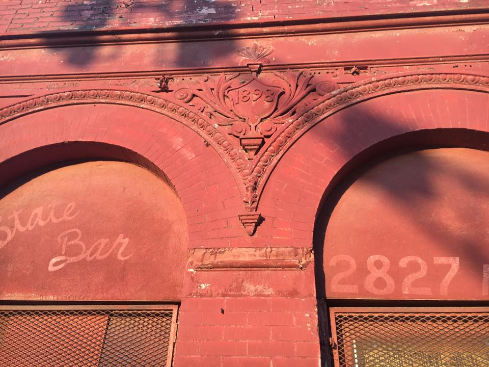 This is a close-up of the former State Bar at 2827 N 16th in North Omaha.