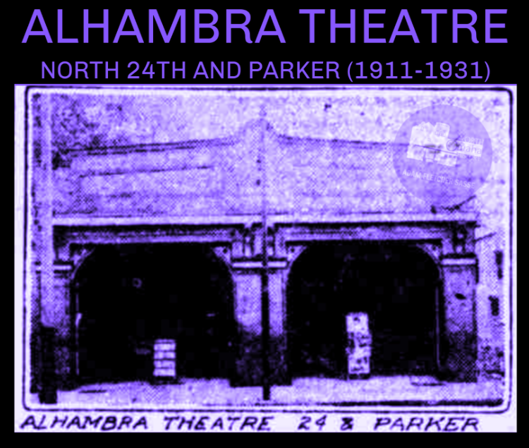 Alhambra Theatre, North 24th and Parker Streets, North Omaha, Nebraska