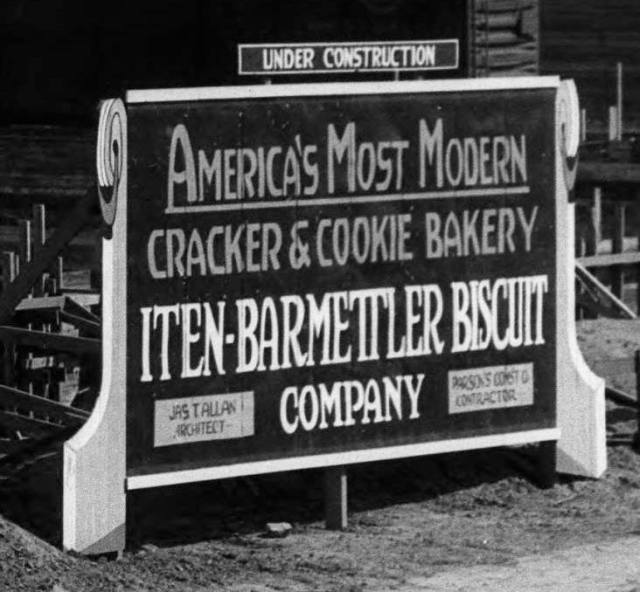 Iten-Barmettler Biscuit Company, N 30th and Taylor Streets, North Omaha, Nebraska