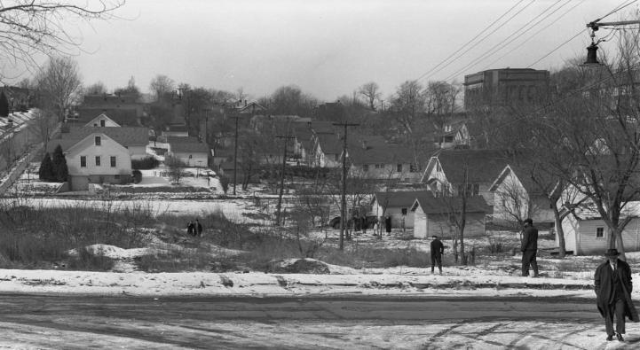 42nd and Binney Streets, North Omaha, Nebraska
