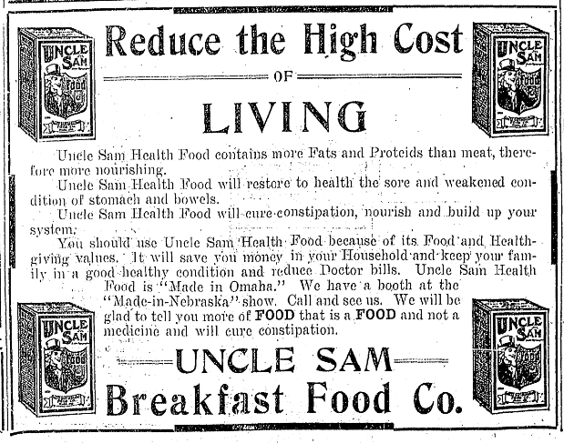 Uncle Sam, North Omaha, Nebraska