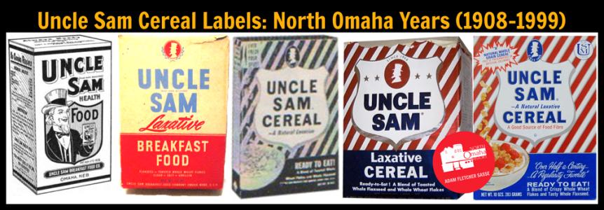 U.S. Mills Uncle Sam cereal boxes