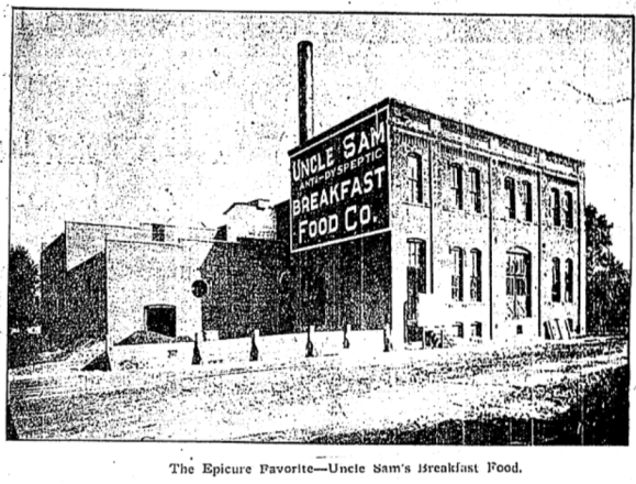Uncle Sam Breakfast Food Company, N. 28th and Sahler St., North Omaha, Nebraska