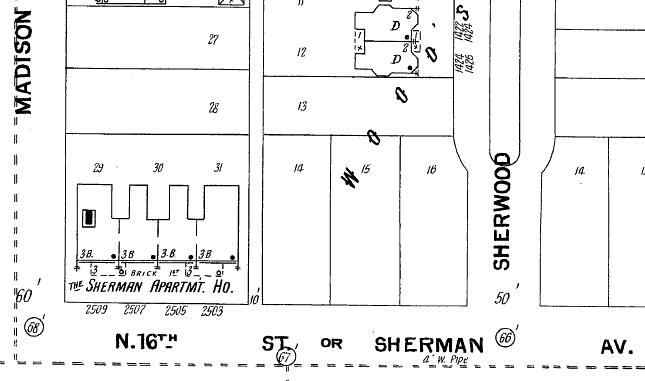 The Sherman, 2501 N. 16th St., North Omaha, Nebraska