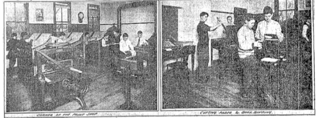 These pics are from a December 1913 feature on the Fort School by the Omaha World-Herald.