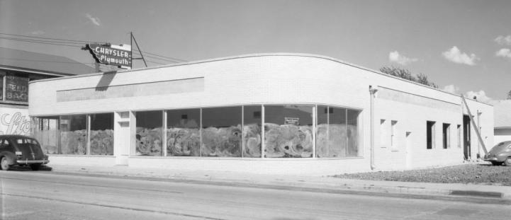 Jourdan Chrysler-Plymouth Dealer, North Omaha, Nebraska