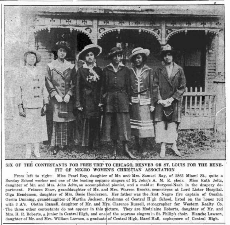 Negro Women's Christian Association of Omaha, 933 N. 25th St., North Omaha, Nebraska