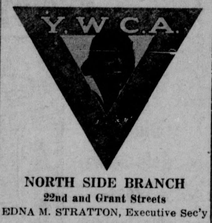 North Side YWCA, N. 22nd and Grant St, North Omaha, Nebraska.
