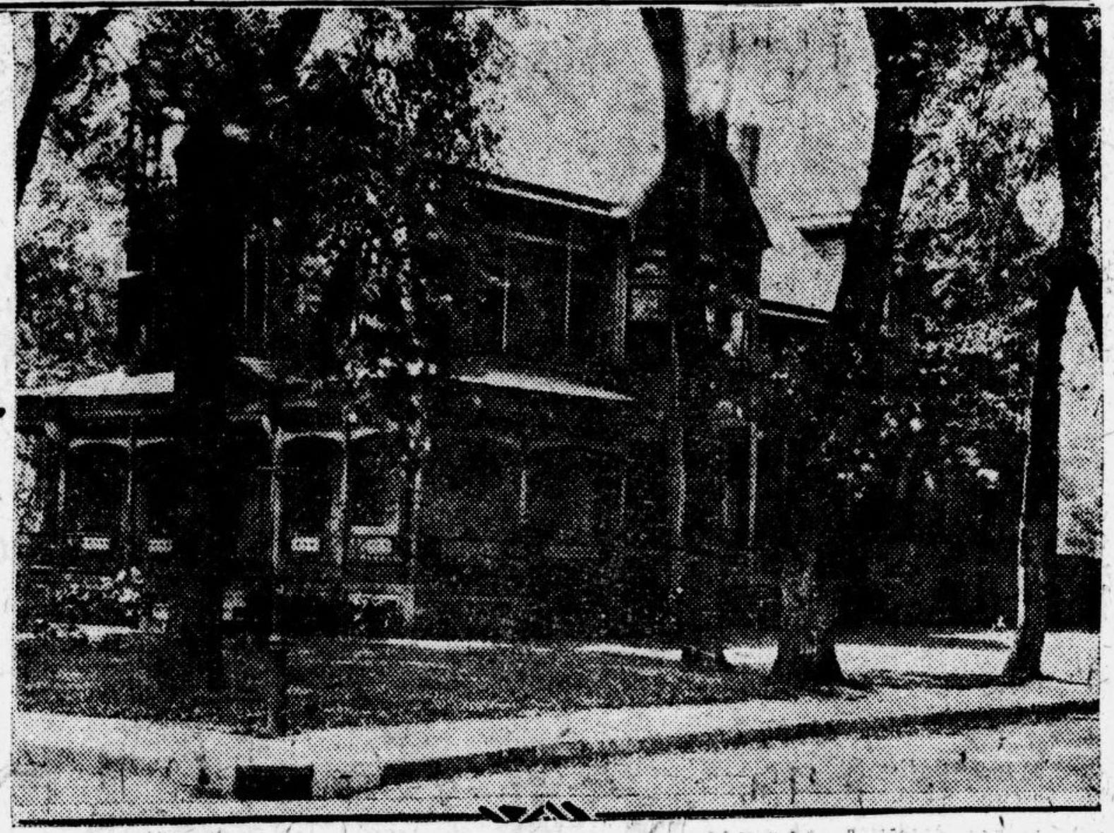 Omaha Salvation Army Rescue and Maternity Home at 3824 North 24th Street, North Omaha, Nebraska