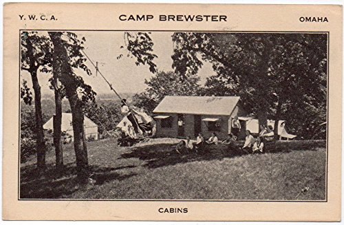 This is a 1930s postcard from the YWCA Camp Brewster, which started integrating in the 1950s.