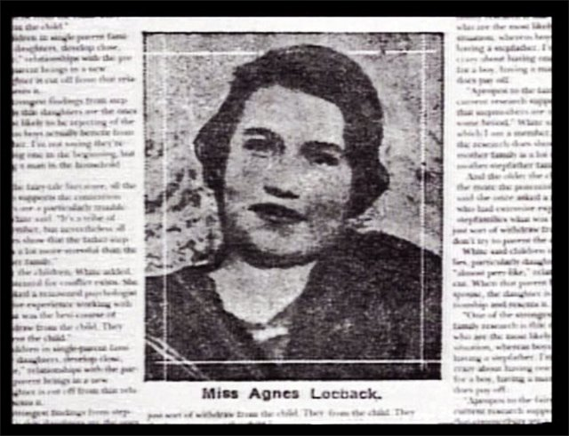 Agnes Marie Loebeck (1899 to 1966)