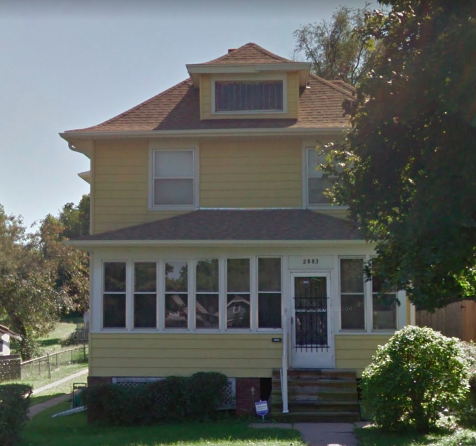 Silas Robbins House, 2883 Miami Street, North Omaha, Nebraska