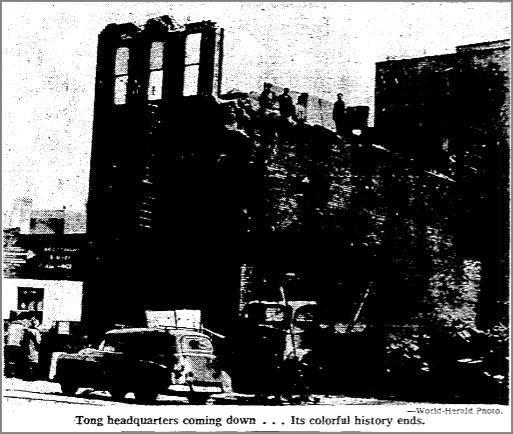 Original On Leong Tong headquarters, 111 North 12th Street, Omaha, Nebraska