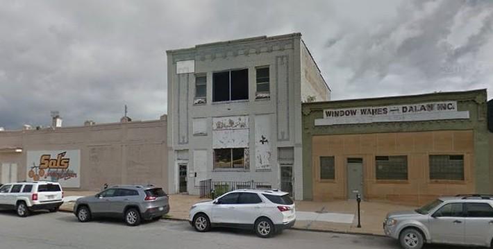 On Leong Tong headquarters, 1518 Cass Street, Omaha, Nebraska