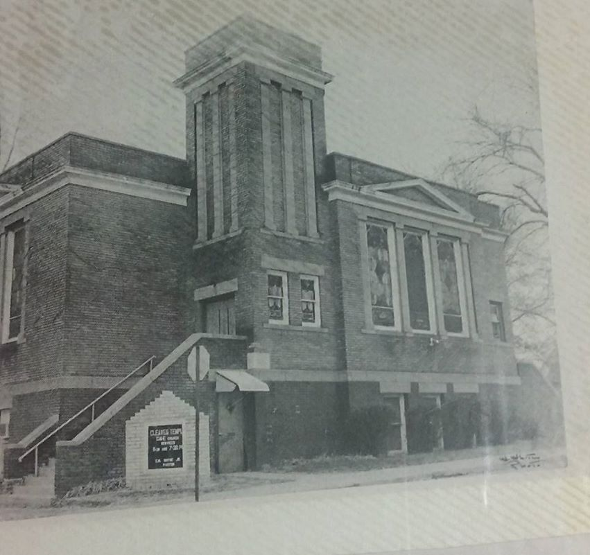 This is a circa 1940 pic of Cleaves Temple CME, N. 26th and Decatur Streets.