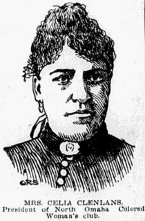 Ophelia Clenlans, North Omaha, Nebraska